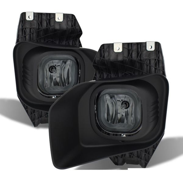 11-16 Ford F250 F350 F450 F550 Super Duty Front Fog Lights - Smoked Lens