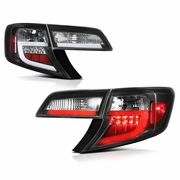 2012-2014 Toyota Camry LED Neon Tube Performance Tail Lights - Black