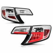 2012-2014 Toyota Camry LED Neon Tube Performance Tail Lights - Chrome