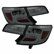 2012-2014 Toyota Camry LED Neon Tube Performance Tail Lights - Smoked