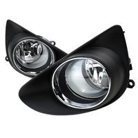 2012-2014 Toyota Yaris Hatchback Replacement Fog Lights - Clear