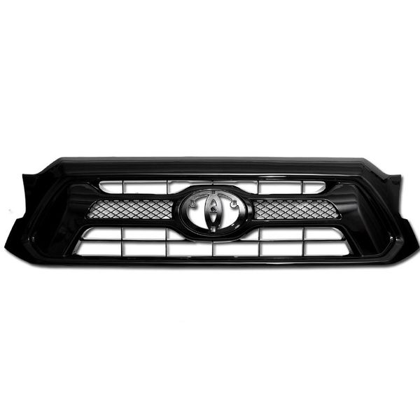 2012-2015 Toyota Tacoma Black OE Style Front Hood Grill