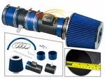 2012-2017 Chevy Enclave Short Ram Intake Black Pipe With Blue Kit