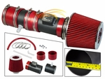 2012-2017 Chevy Enclave Short Ram Intake Black Pipe With Red Kit