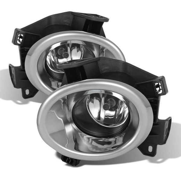 2013-2015 Nissan Pathfinder Glass Lens OEM Style Replacement Fog Lights