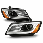 2013-2017 Audi Q5 (HID / Xenon AFS models) Factory-Style Projector Headlights - Pair