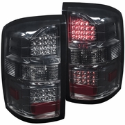 2014-2017 GMC Sierra (New Body Style) Performance LED Tail Lights - Smoked