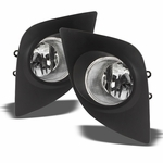14-16 Fit Toyota Corolla Clear Bumper Fog Lights Front Bumper Lamps+Bulbs+Switch