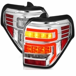 2014-2019 Toyota 4Runner Optic-Style LED Tail Lights - Chrome