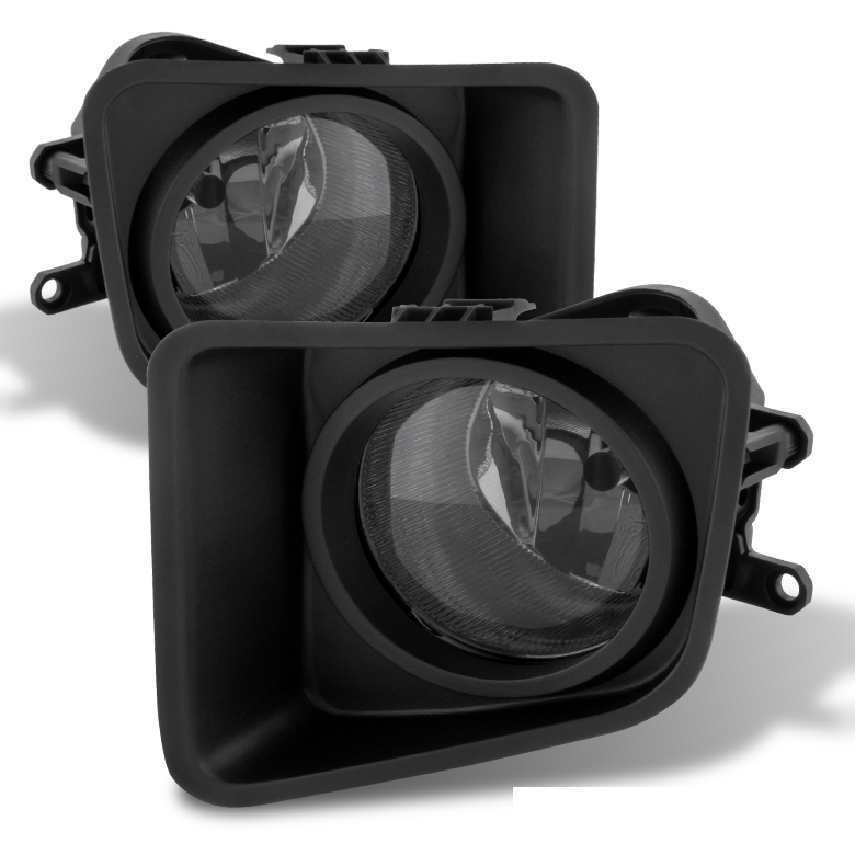 Toyota Tundra Factory Style Front Per Fog Lights Kit Smoked Click To Enlarge