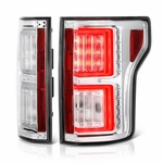 2015-17 Ford F150 F-150 LED Tube Performance Tail Lights - Chrome
