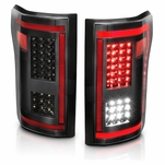 2015-2017 Ford F150 Full LED [Sequential Signal] Tail Lights - Black