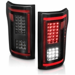 2015-2017 Ford F150 Full LED [Sequential Signal] Tail Lights - Smoked