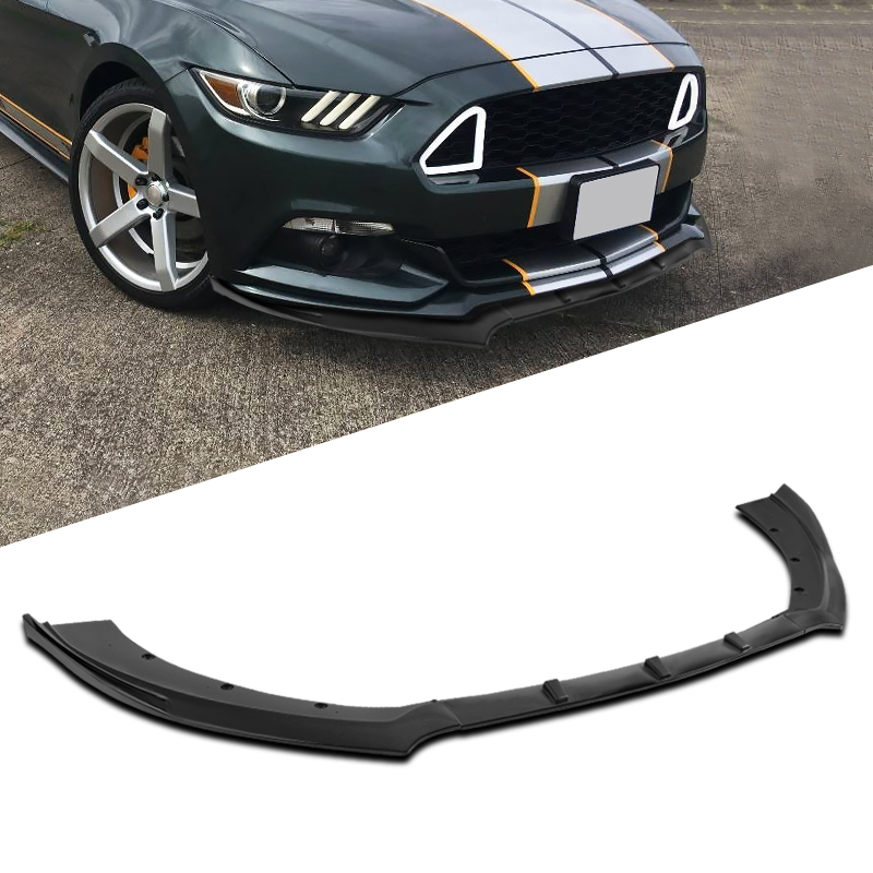 Details about  /For Ford Mustang Type 3 Quick Lip Universal Front Bumper Splitter 24x5 Inch