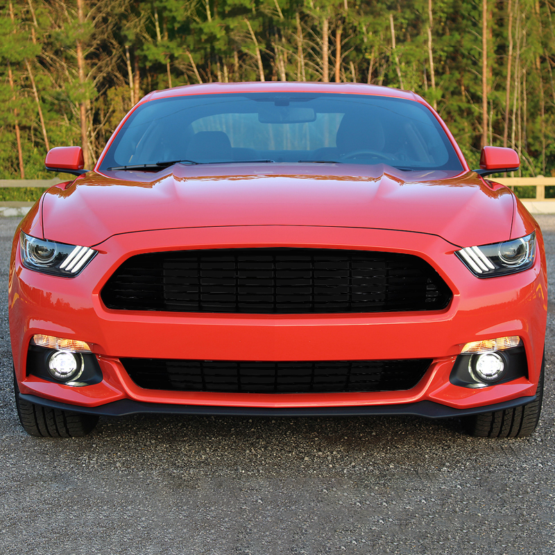 2015 2017 Ford Mustang Ca Style Upper Lower Front Hood Grille