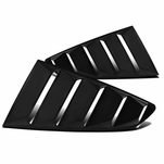 2015-2018 Ford Mustang Rear Quarter 1/4 Side Window Louvers Scoop Cover
