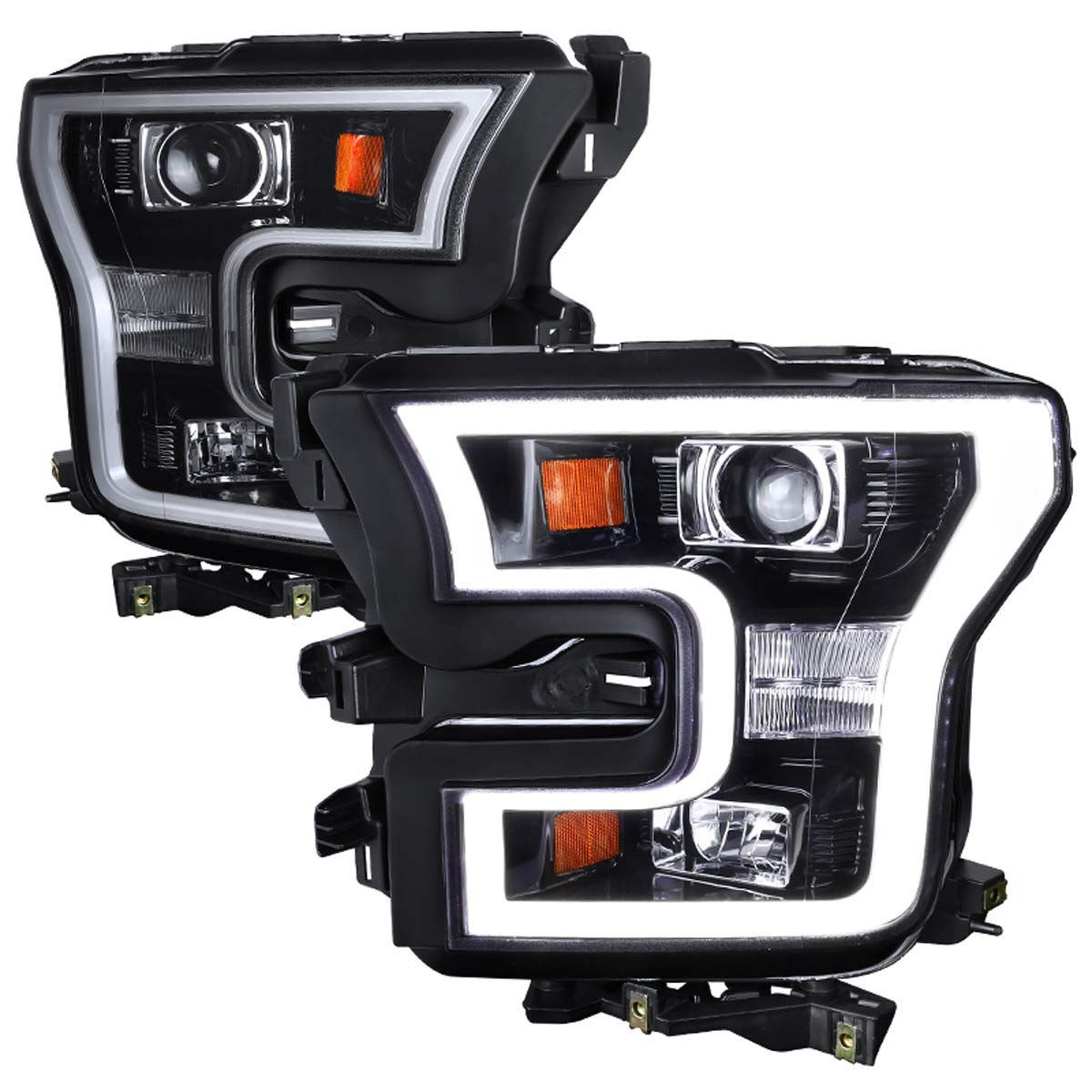 2015-2017 Ford F-150 LED DRL Projector Headlights