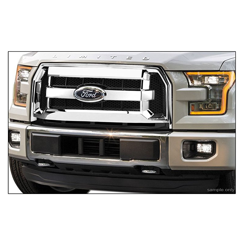 FORD F150 2015-2017 Chrome Grille