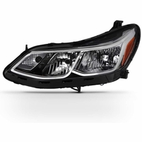 2016-2018 Chevy Cruze Halogen Replacement Headlight Headlamp - Driver Side Only