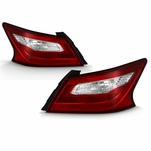 2016-2018 Nissan Altima Tail Lights Brake Lamps Replacement Outer Left+Right