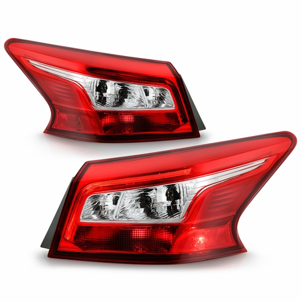 2016-2018 Nisssan Sentra [Outer Only] LED Tail Lights Replacement