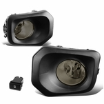 2016-2019 Toyota Tacoma Pair Front Bumper Driving Fog Lights Kit (Smoked Lens)