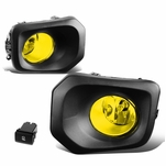 2016-2019 Toyota Tacoma Pair Front Bumper Driving Fog Lights Kit (Yellow Lens)
