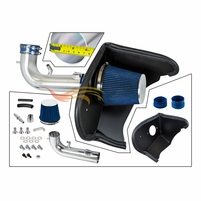 2016-2020 Chevy Camaro 3.6L V6 Cold Air Intake Kit with Filter +Heat Shield - Blue