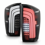 2016-2020 Toyota Tacoma Black LED Sequential Tail Lights