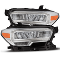 2016-2020 Toyota Tacoma [Halogen Model with DRL] TRD-Style LED Headlights - Chrome