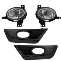 2017-2018 Honda CRV CR-V Clear Fog Light Full Kit w/ Wring