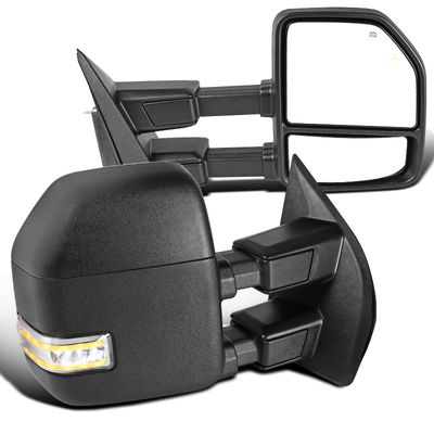 2017-2019 F250 SuperDuty Power Adjust / Heat / Temp Sensor / Sequential LED Tow Mirrors