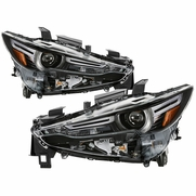 2017-2019 Mazda CX-5 LED DRL w/AFS LED Projector Headlights Replacement