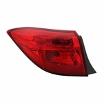 2017-2019 Toyota Corolla Sedan SE/XSE/XLE Outer Red Tail Light Replacement Left Driver Side