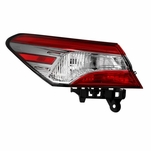 2018-2019 Toyota Camry L/LE/Hybrid LE [OE Style] Tail Light Outer Driver Side