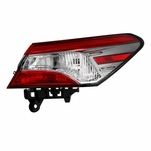 2018-2019 Toyota Camry L/LE/Hybrid LE [OE Style] Tail Light Outer Passenger Side