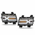 2018-2021 Jeep Wrangler JL/Gladiator X-LED DRL Sequential Turn Signals