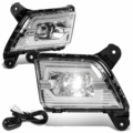 2019-2020 Chevy Silverado 1500 LED Projector Front Fog Lights - Clear