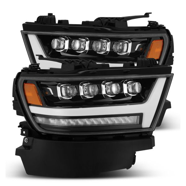 2019-2020 Dodge Ram 1500 NOVA-Series [Full LED] Projector Headlights Jet Black
