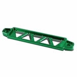 220MM / 190MM Billet Aluminum Car Battery Tie Down Brace Bar - Green