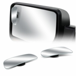 "3-5/8"" W x 1-3/8"" H Rectangle Convex Back/Rear Tow Side View Blind Spot Mirror"