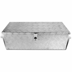 "30"" Heavy Duty Aluminum Tool Box Storage Pickup Truck Underbed Trailer Organizer"