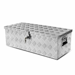 "30 X 13"" Aluminum Pickup Truck Trunk Bed Tool Box Underbody Trailer Storage+Lock"