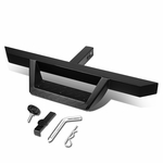 "32.5"" x 2.25"" Diamond Square Class III 2"" Receiver Hitch Step Bar (Black)"