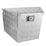 "34"" Heavy Duty Aluminum Tool Box Truck Storage Underbody Truck Trailer Tongue"
