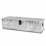 "39 X 13"" Aluminum Pickup Truck Trunk Bed Tool Box Underbody Trailer Storage+Lock"