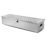 "48"" Aluminum Pickup Truck Bed Trailer Key Lock Storage Tool Box (Underbed)"
