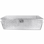 "49"" Heavy Duty Aluminum Tool Box Pickup Truck Storage Underbody Trailer Flat Bed"