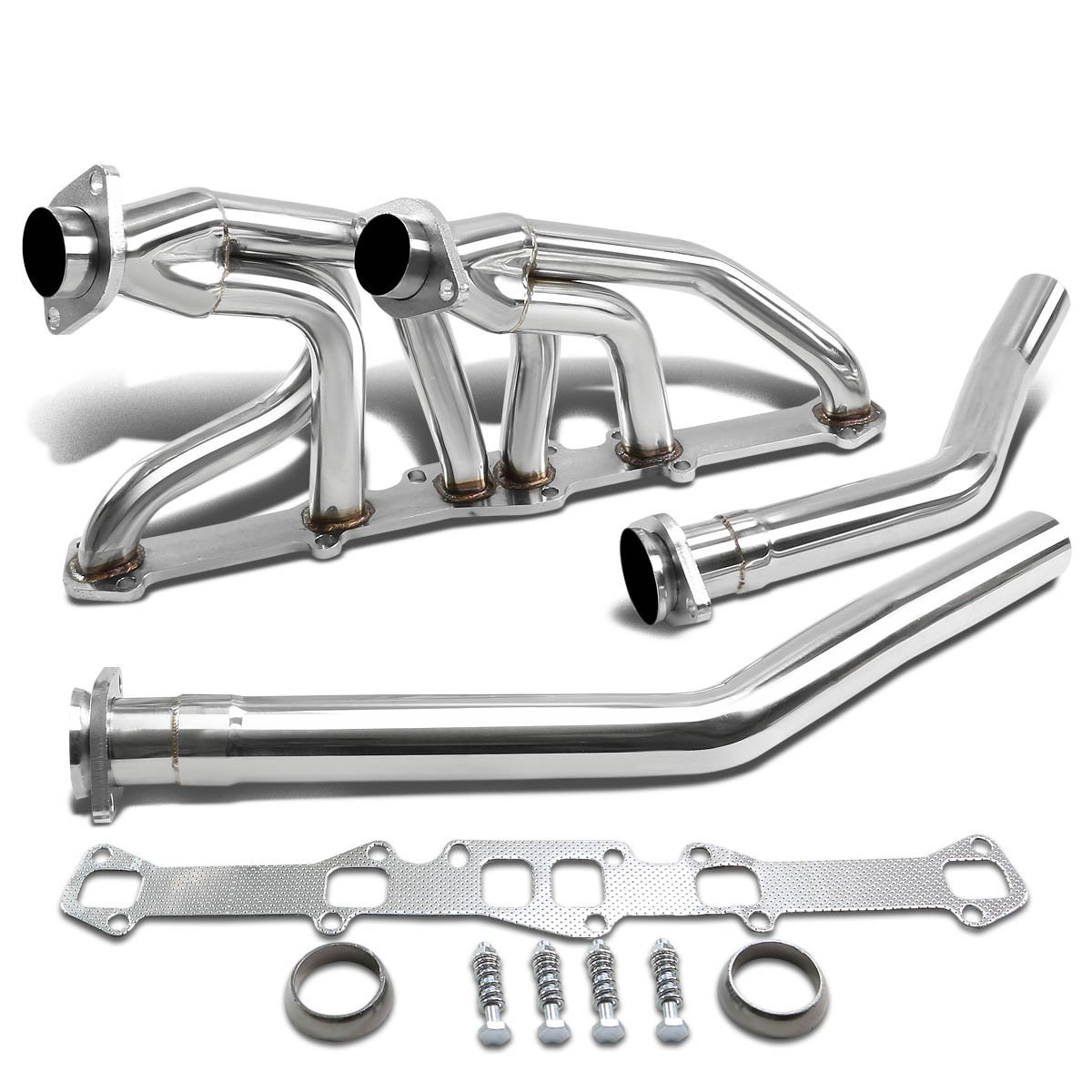 60-83 Ford/Mercury I6 6-2 Design Stainless Steel Exhaust Header Kit