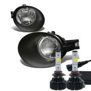 60W LED Kit + 02-08 Dodge RAM OE-Style Fog Lights - Clear